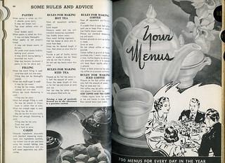 ephemera - Encyclopedic Cookbook, 1948, Chapter 2