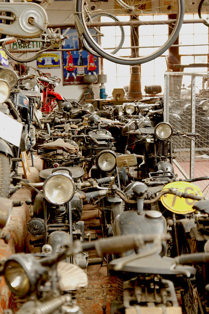 Technik Marxzell Motorrad Sammlung