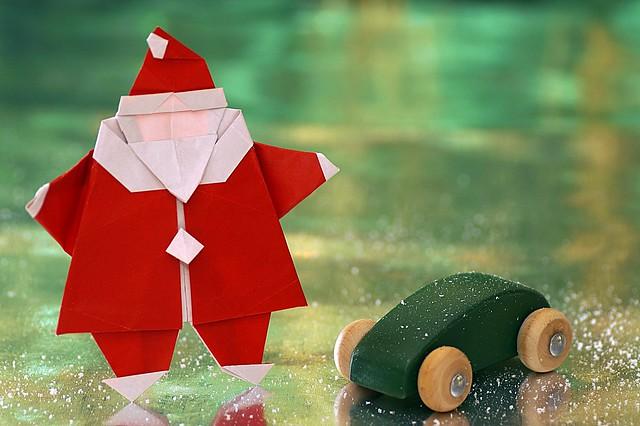 Origami Santa (Peter Engel)