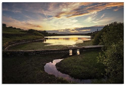 leeming leemingreservoir yorkshire d600 water reservoir sunset ngc nikonfxshowcase nikkor1635mmf4