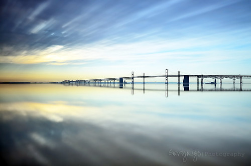 longexposure usa seascape reflection sunrise pier nikon maryland filter nd baybridge 1224mm sandypointstatepark d7000 leebigstopper