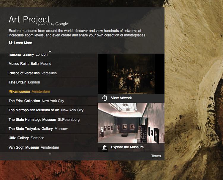 Screen Shot Google Art Project Site Home Page M Mortati Flickr