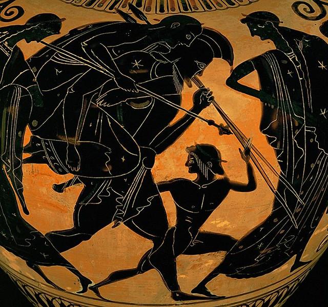 -0520 Salida de Troya de Eneas