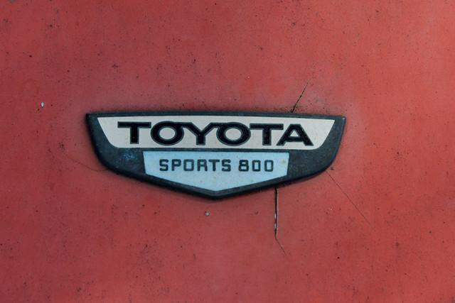 Toyota Sports 800 badge