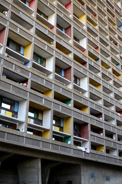 Le Corbusier la maison radieuse Reze les Nantes - atana studio