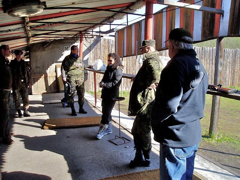 Malorážová puška a pistole, 16.4.2011