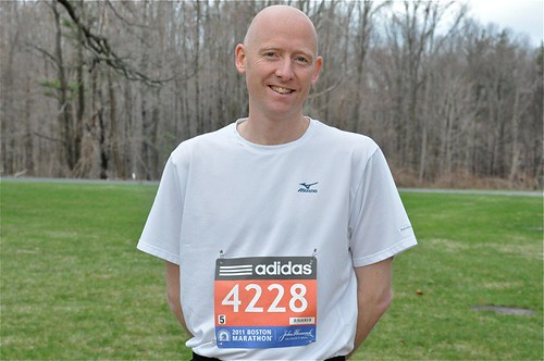Peter Morville: Ready for the Boston Marathon | by Peter Morville