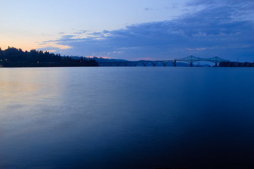 bridge oregon sunrise landscape northbend mcculloughbridge canont3i