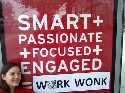 Elizabeth Nelson, Work WONK