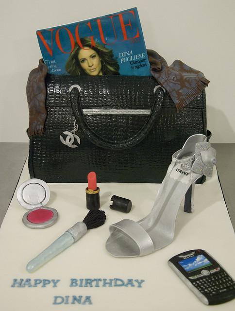 Chanel purse cake toronto