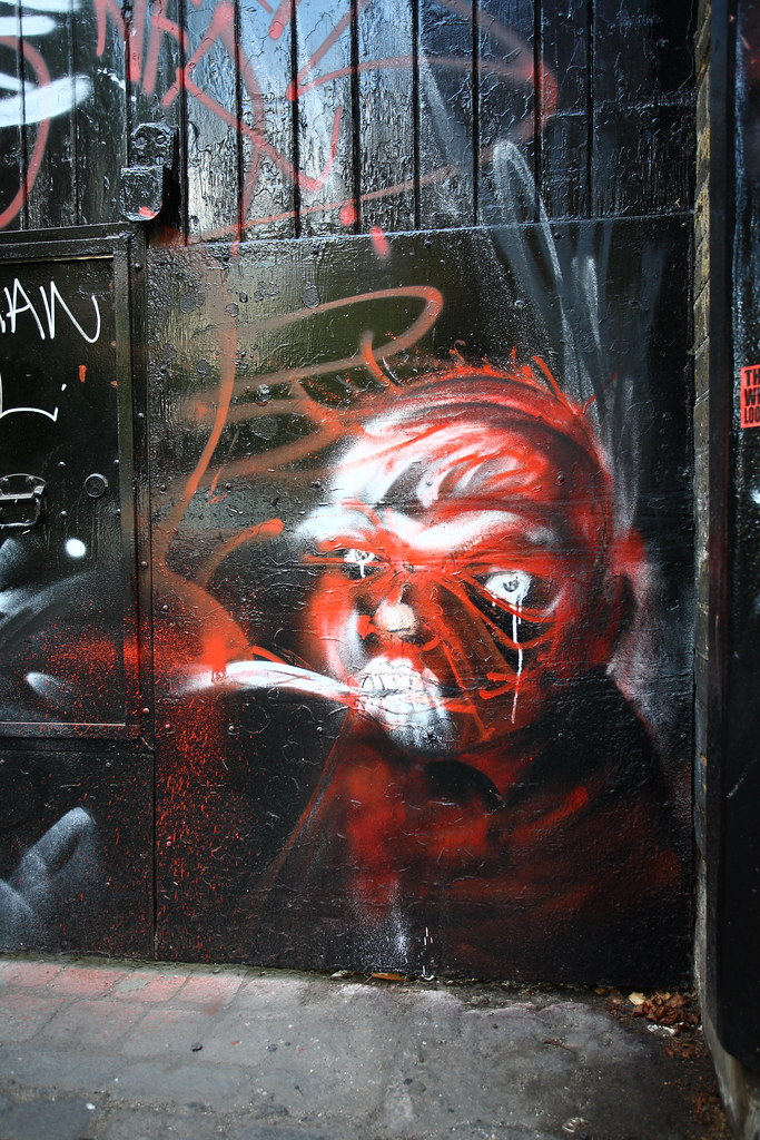 Shoreditch Graffiti: Fantastic Day Hunting Graffiti In