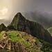 Machu Picchu HDR Rainbow by lukedakin