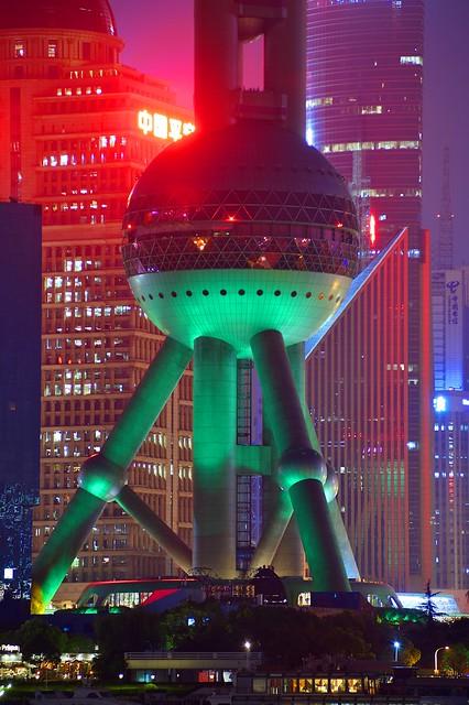 Shanghai - Green Legs