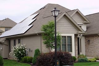 Williamsville, NY residential solar installation | by Solar Liberty