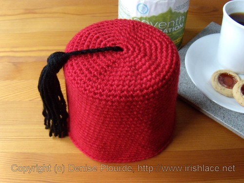 Fez Toilet Paper Roll Cover (Crochet) | by irishlacenet
