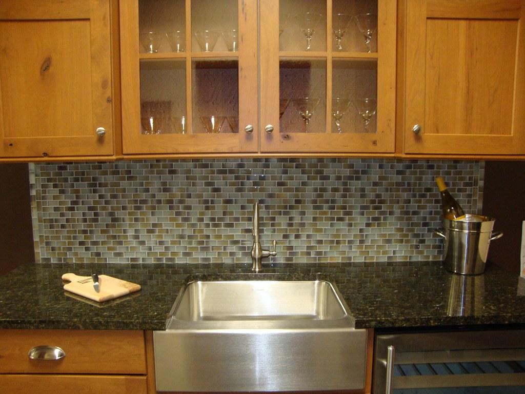 - Kitchen Backsplash - Modern Mosaic Tiles For A Modern Look… Flickr