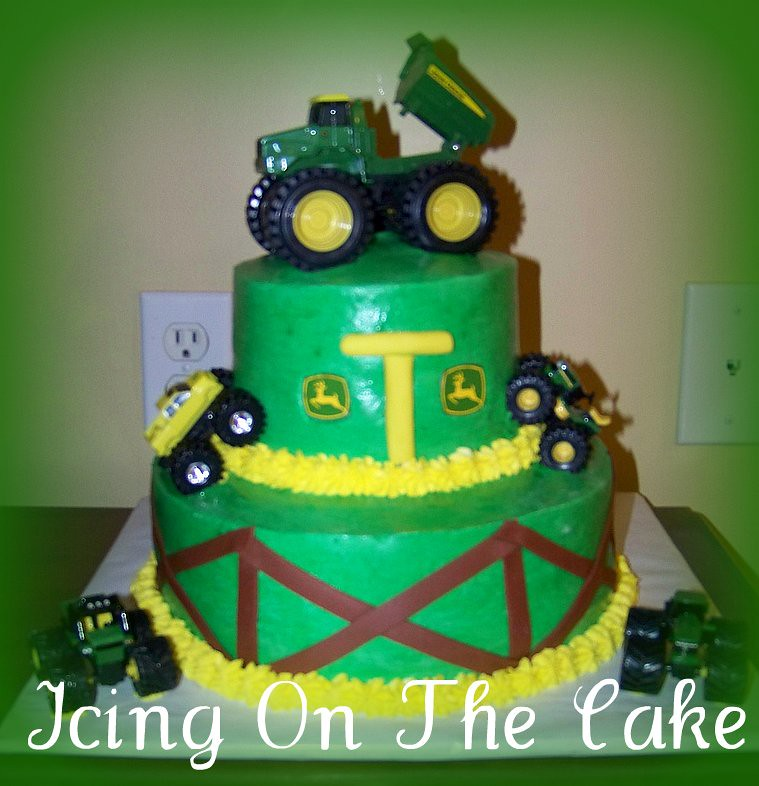 Magnificent John Deere Birthday Cake Icing On The Cake Lady Flickr Funny Birthday Cards Online Elaedamsfinfo