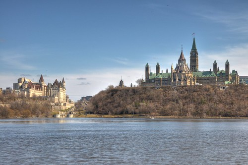 Parliament Hill view from Gatineau Quebec | by Howard Yang Photography