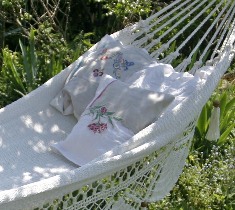 Cozy DIY Fabric Swing | DIY Spring Garden Ideas To Get Ahead This Growing Season