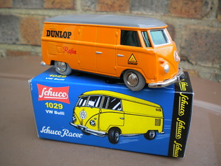 Schuco Racer VW Type 2 Bus Dunlop Livery