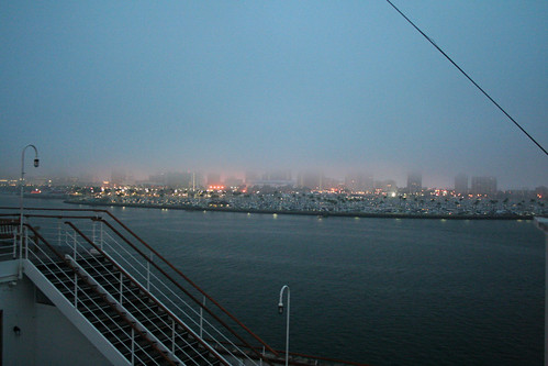 Queen Mary - Long Beach in Morning Mist | by Miss Shari