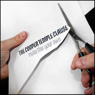 the cooper temple clause - make this your own