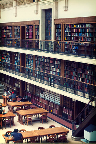 Mitchell Library reading room, The State Library of NSW | by >littleyiye<