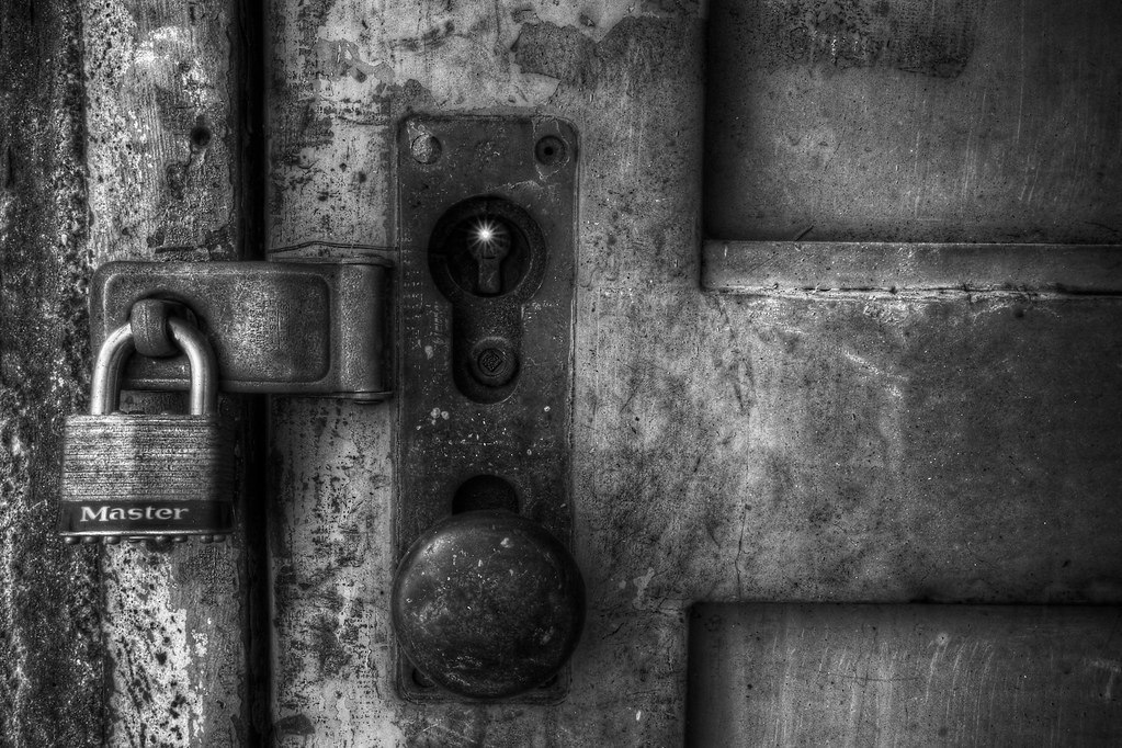 Locked Door In B W Seaholm Power Plant A Couple Hdrs