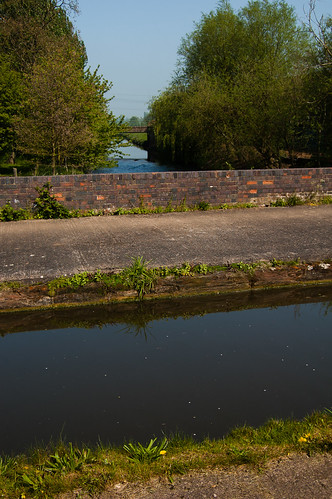 Trent aqueduct, Staffs and Worcs canal