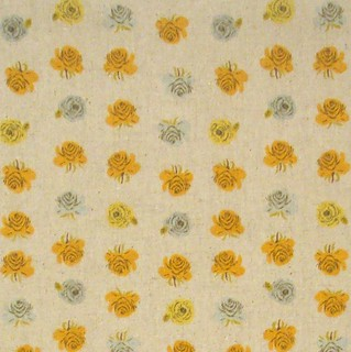 Kokka Heather Ross Roses Natural