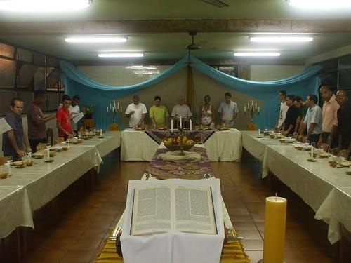 Ceia Judaica no Seminário Paulo VI em Nova Iguaçu - RJ