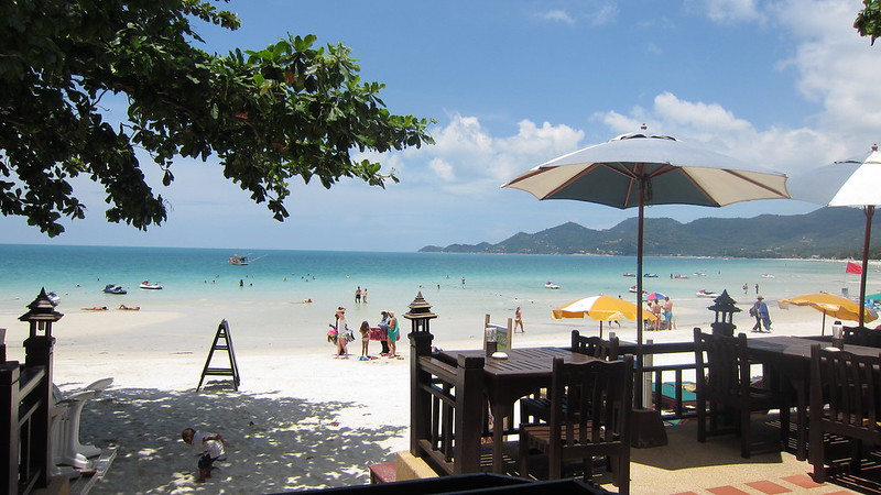 Koh Samui Chaweng Beach center サムイ島チャウエンビーチ