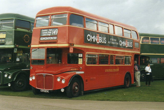 RCL 2223, CUV 223C, AEC Routemaster, Park Royal Body H36-29RD, 1965