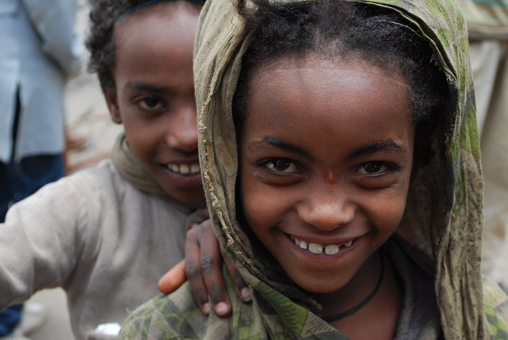 girls living on the street in Addis Ababa, Ethiopia | Flickr