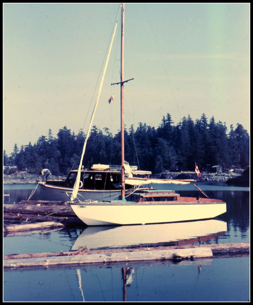 Sequoia In Centre Bay | The Thunderbird class sailboat was d