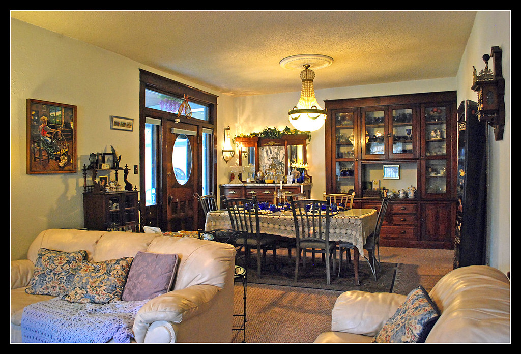 . Old fashioned living at Lavender   Thyme   Seen from the doo    Flickr