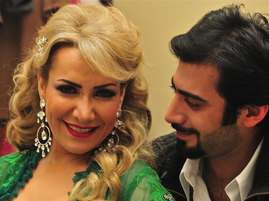 محمد العلوي و هدي حسين في مسلسل الملكه Abdullah Boushehri Flickr