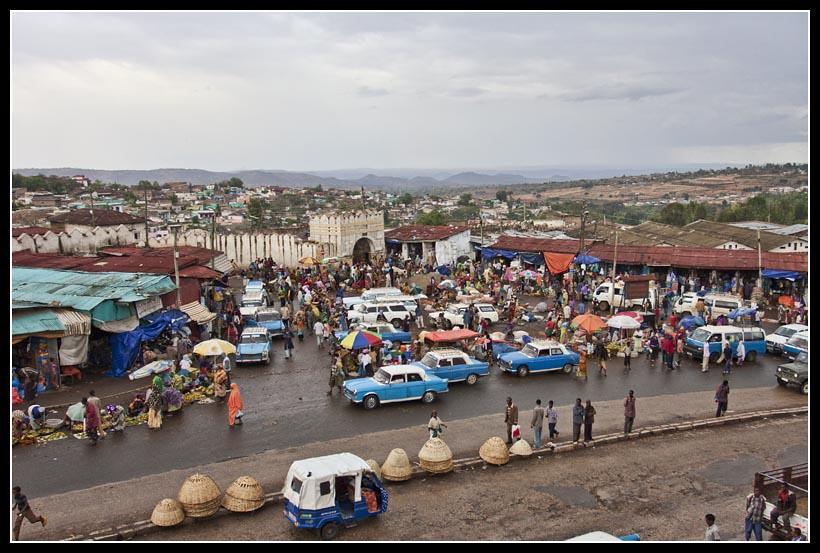 Harar market,