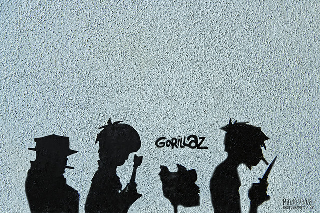 Gorillaz graffiti