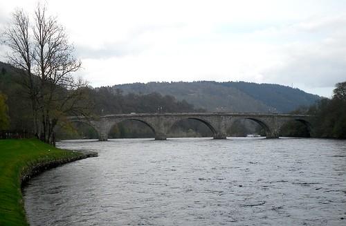 Bridge over Tay at Dunkeld