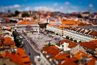 Praça de D. Pedro IV (Rossio Square) | by Frozenpanda.com - Daniel Nielsen Photography