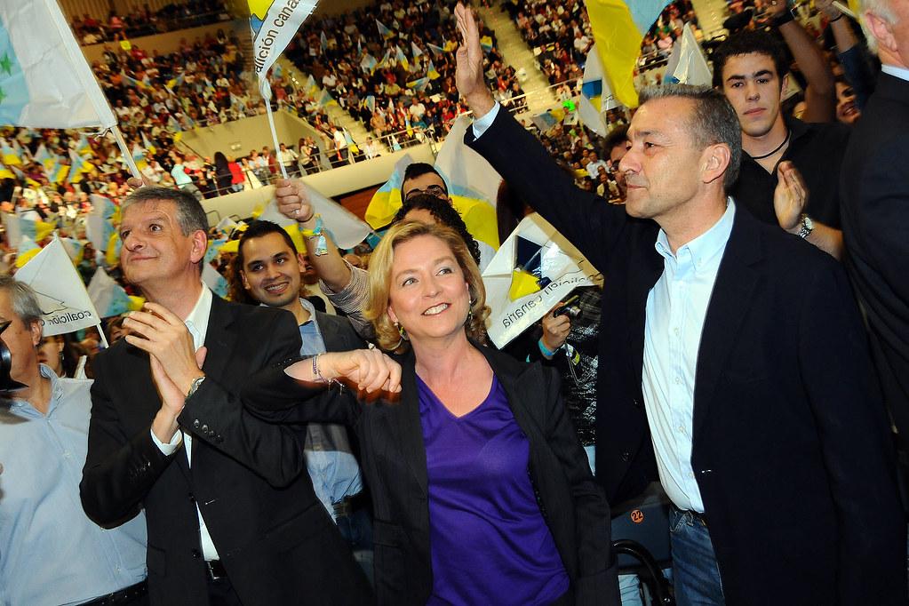 Paulino Rivero ataca duramente a Coalición Canaria