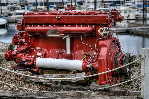 Murphy Diesel Marine Engine - Wooden Boat Festival - Maple