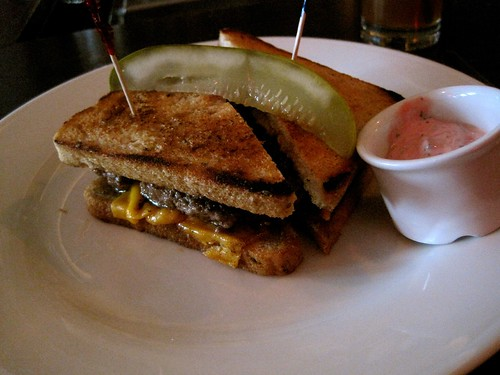 Bell, Book and Candle: Brunch, Patty Melt with Pimms Cup | by bhamsandwich