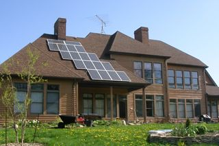 East Pembroke, NY residential solar installation | by Solar Liberty