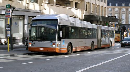 belgium - brussels bendibus 8843 city centre 01-03-07 JL   by johnmightycat1