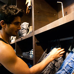 Prateik Babbar at the Diesel Store in Juhu, Mumbai