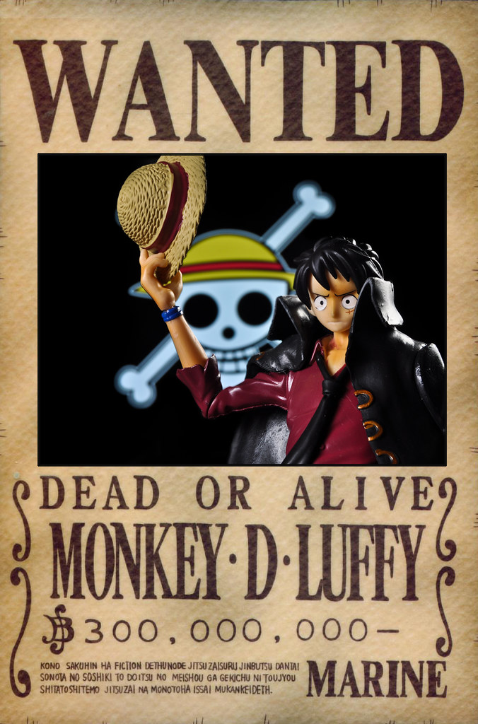 Luffy Wanted Poster A Bounty Reflects Both The Threat And
