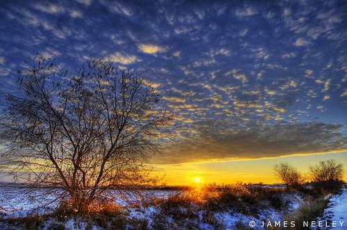 sunset landscape idaho hdr idahofalls photomatix 5xp superaplus aplusphoto jamesneeley