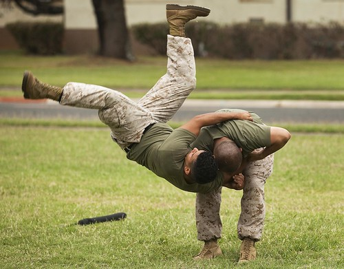 Top-level Marine instructors use martial arts workshop to renew, re-certify ethical warriors [Image 3 of 3] | by DVIDSHUB